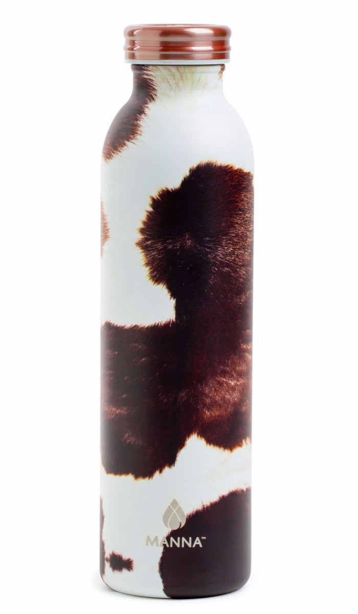 Manna Hydration Water Bottle - Cowhide