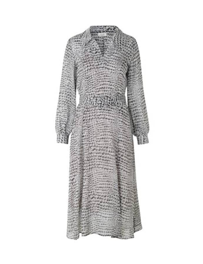 LEVETE Room Kira Dress - Grey