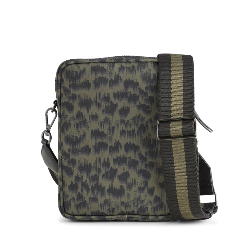 MarkBerg Bexley CrossBody Bag - Olive Army Black