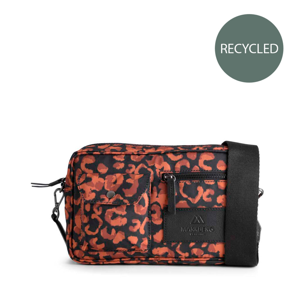 Markberg Darla Recycled Cross Body Bag - Animal Print