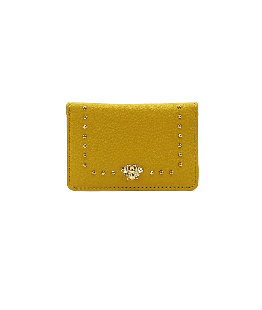 Nooki London Tucker Bee Stud Card Holder - Yellow