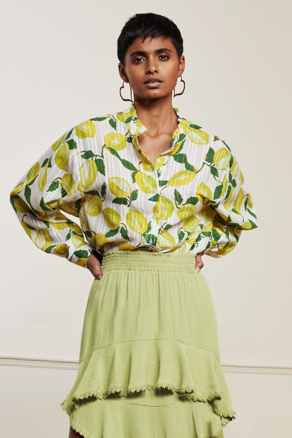 Fabienne Chapot Jennifer Blouse - Lime Lights