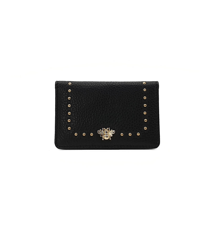 Nooki London Tucker Bee Stud Card Holder - Black