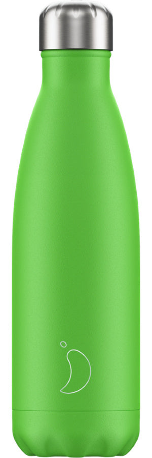 Chilly's Water Bottle 500ml - Neon Green