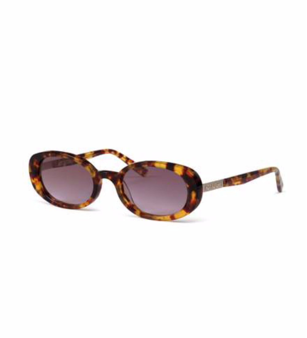 HOT FUTURES Sunglasses - Amber Tortoiseshell