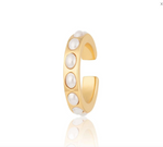 Scream Pretty Single Pearl Cuff - Gold