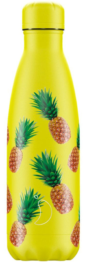 Chilly's Water Bottle 500ml - Icons Pineapple