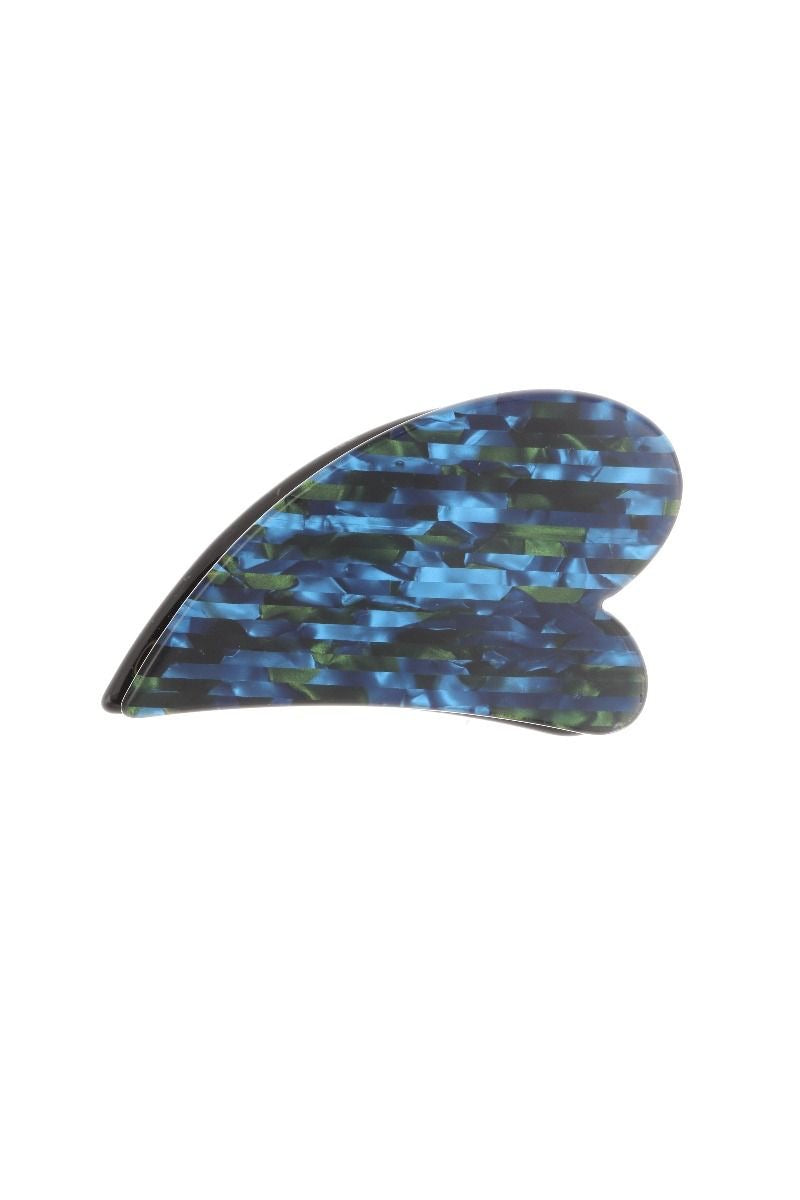 Ashiana London Bella Hair clip - Sea Blue / Green