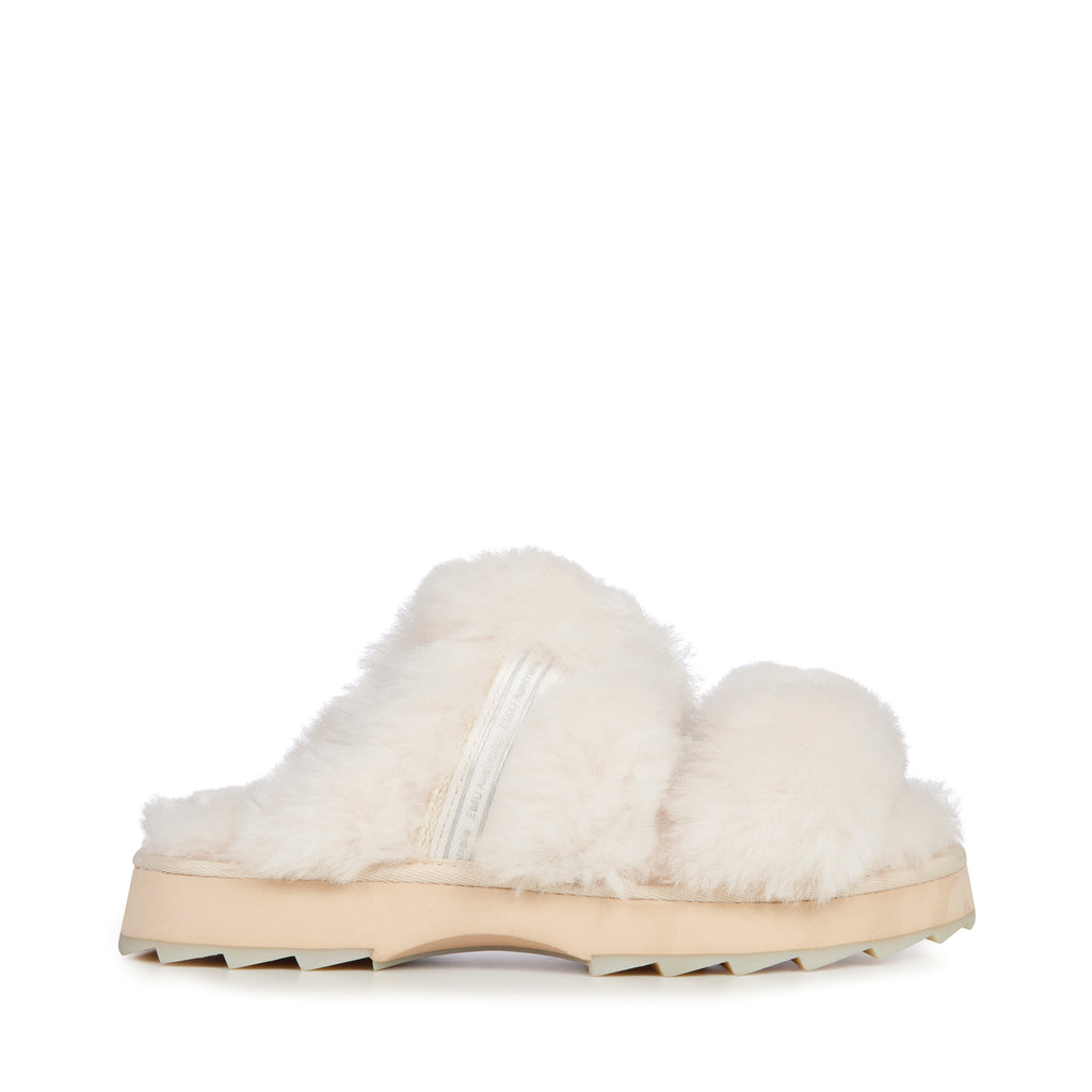 Emu Australia Wobbegong Sheepskin Slipper - Natural