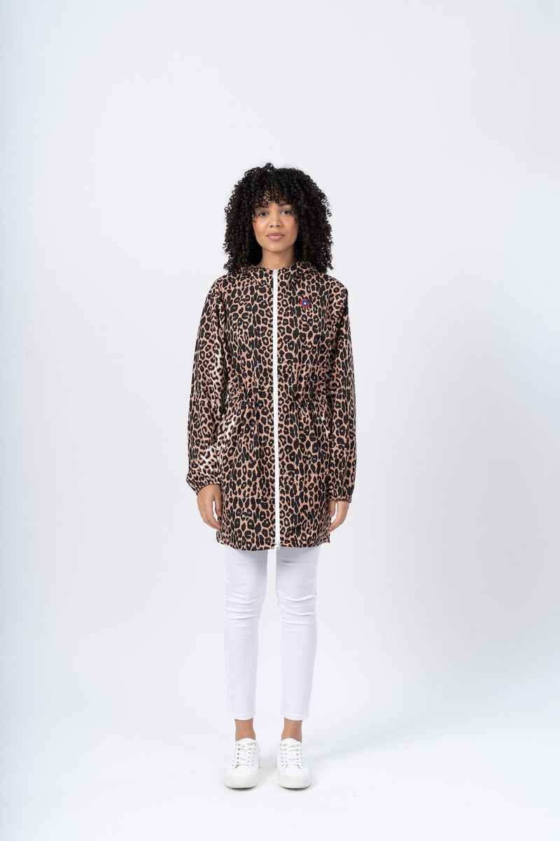Flotte Waterproof Raincoat - Leopard