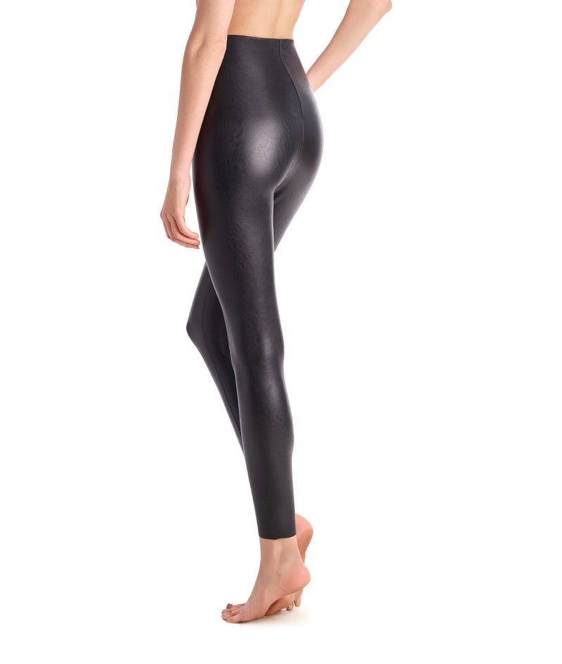 Commando Faux Leather Leggings - Black