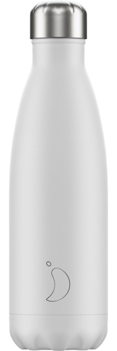 Chilly's Water Bottle 500ml - White