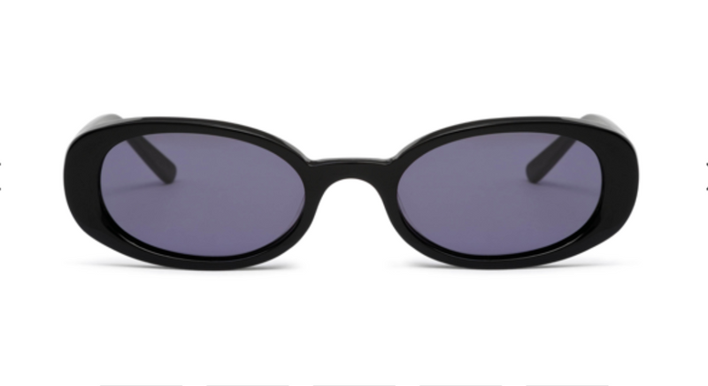 HOT FUTURES Sunglasses - Gloss Black