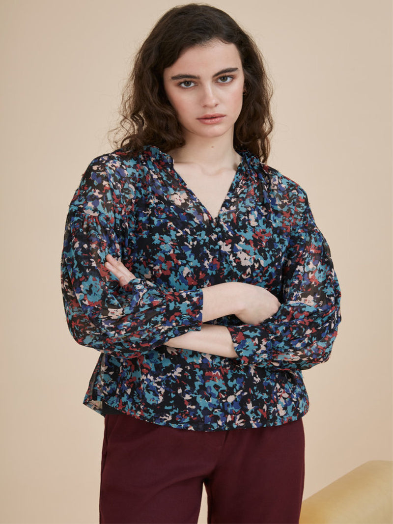 Suncoo Liberty Floral Blouse