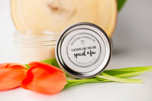 Teachers Like You are Special and Few Scented Soy Candle