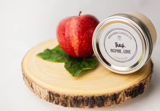 Teach, Inspire, Love Scented Soy Candle