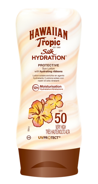 SILK HYDRATION LOCIÓN SPF 50 - 180 ML