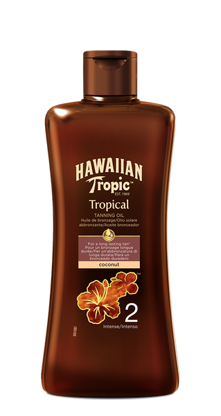 ACEITE BRONCEADOR TROPICAL SPF 2 - 200 ML