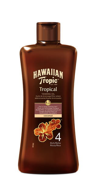 ACEITE BRONCEADOR TROPICAL SPF 4 - 200 ML