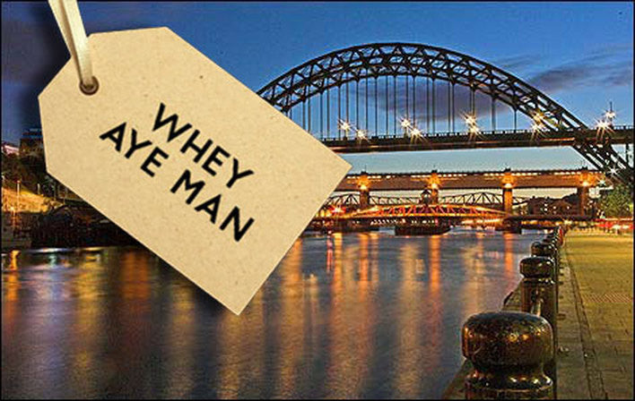 Popular Geordie slang words & sayings : How to understand a Geordie