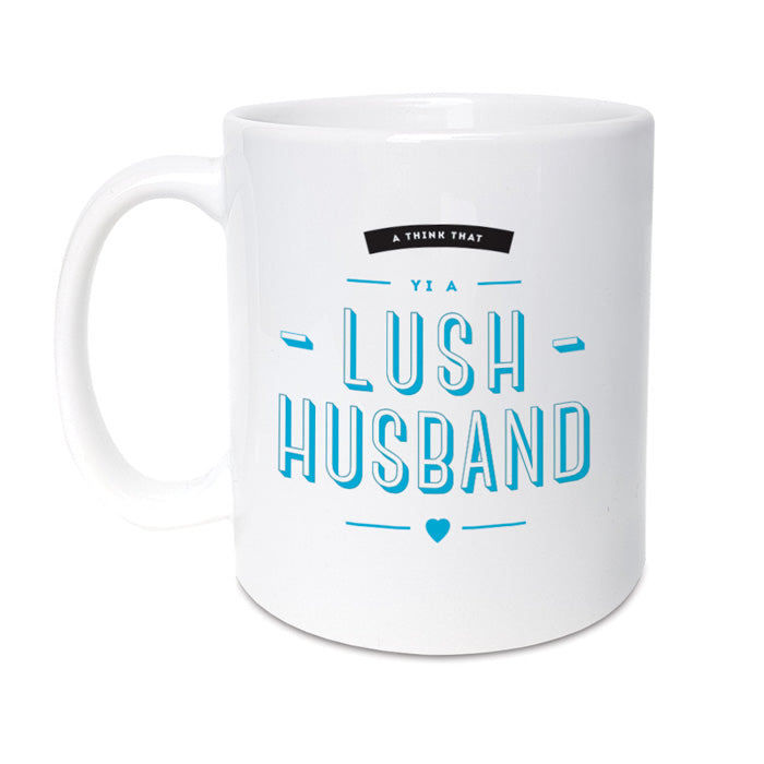 lush husband mug geordie gifts newcastle gift