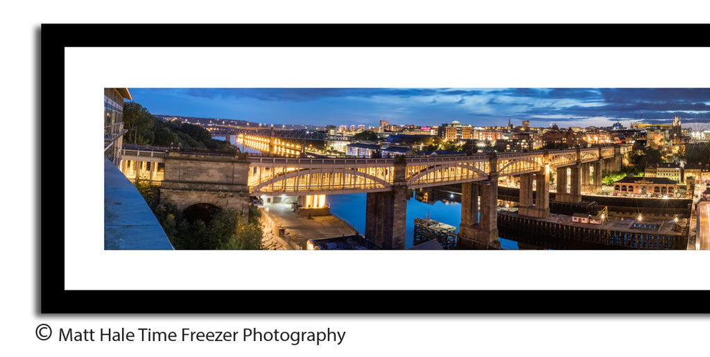panoramic newcastle quayside zoom