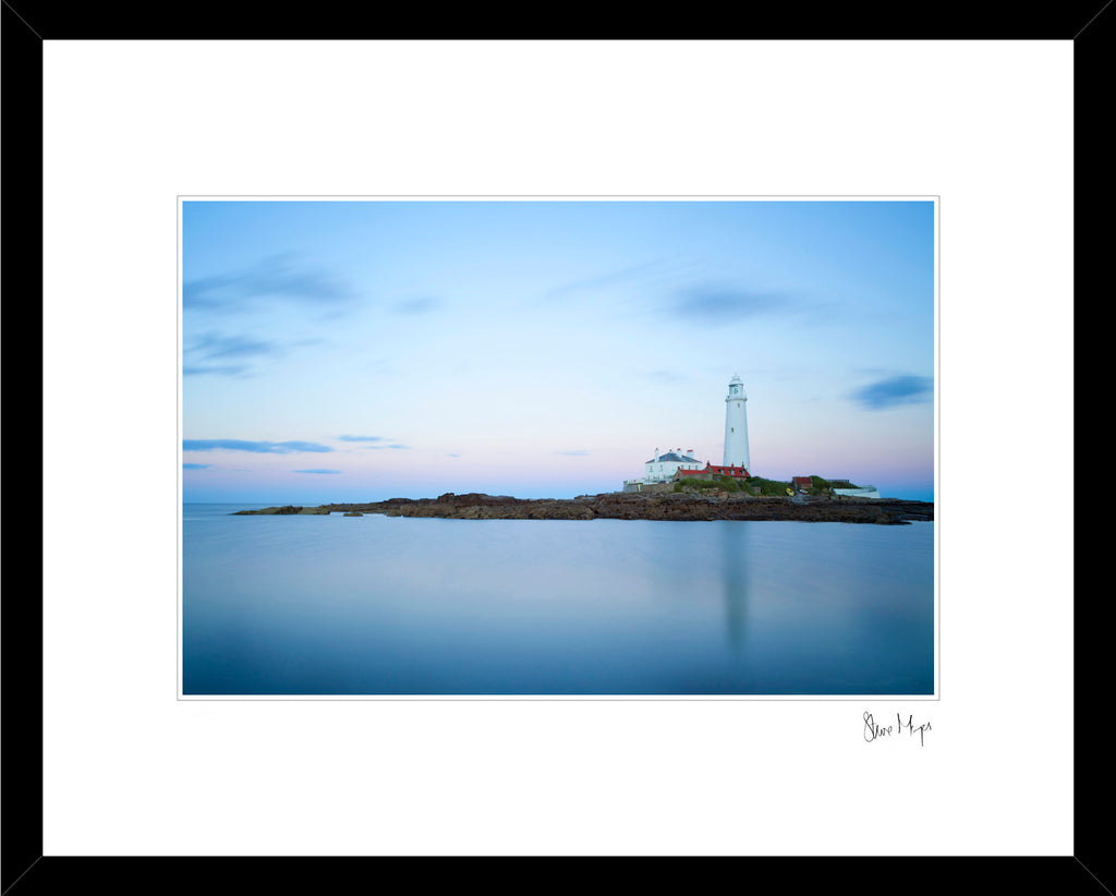 st marys lighthouse whitley bay landscape photography newcastle northumberland framed print