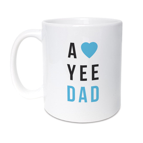 a love yee dad geordie gifts newcastle mug fathers day