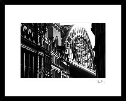 Tyne Bridge Newcastle Black & white Photography print
