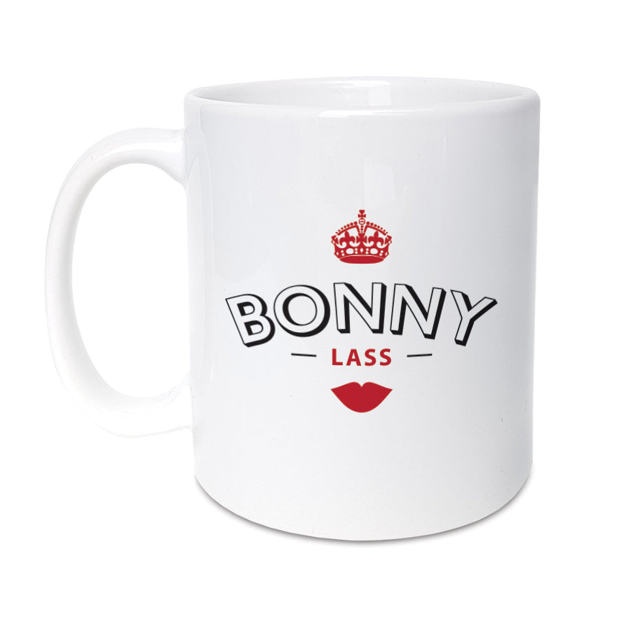 bonny lass geordie gifts mug. Perfect gift for a newcastle mug