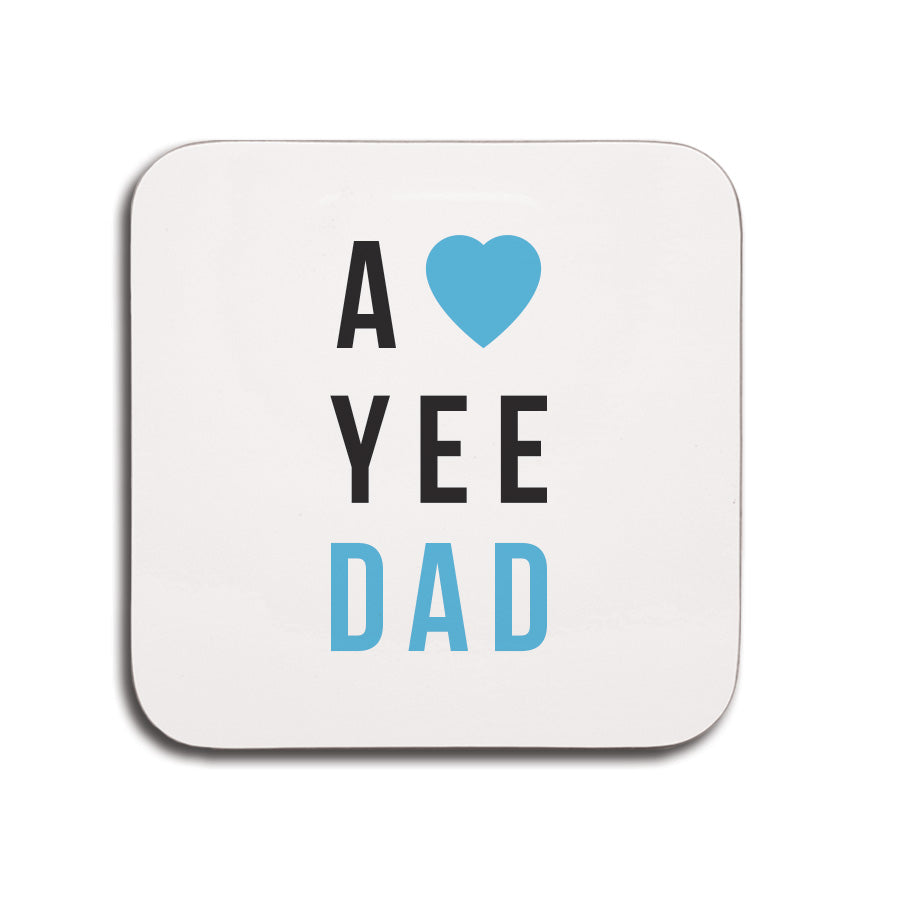 a love yee dad geordie gifts newcastle coaster fathers day