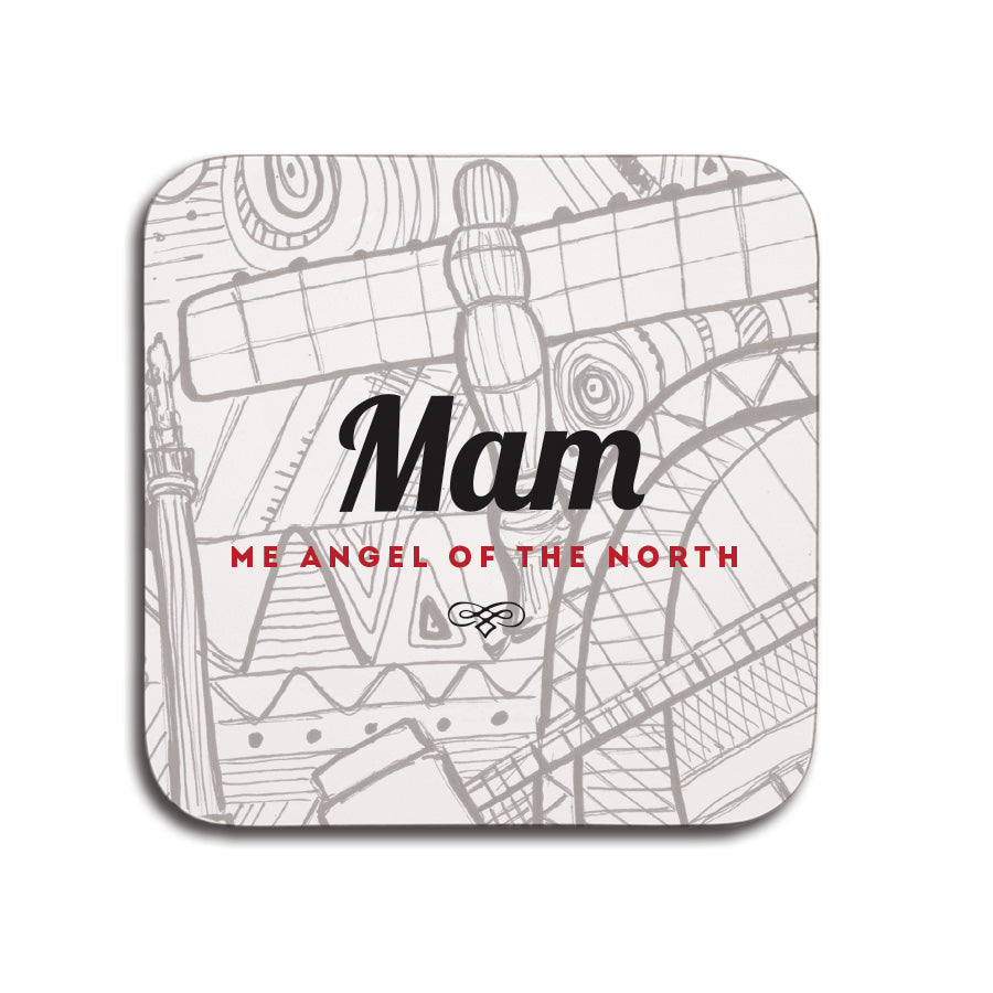 mam me angel of the north coaster small mothers day newcastle presents