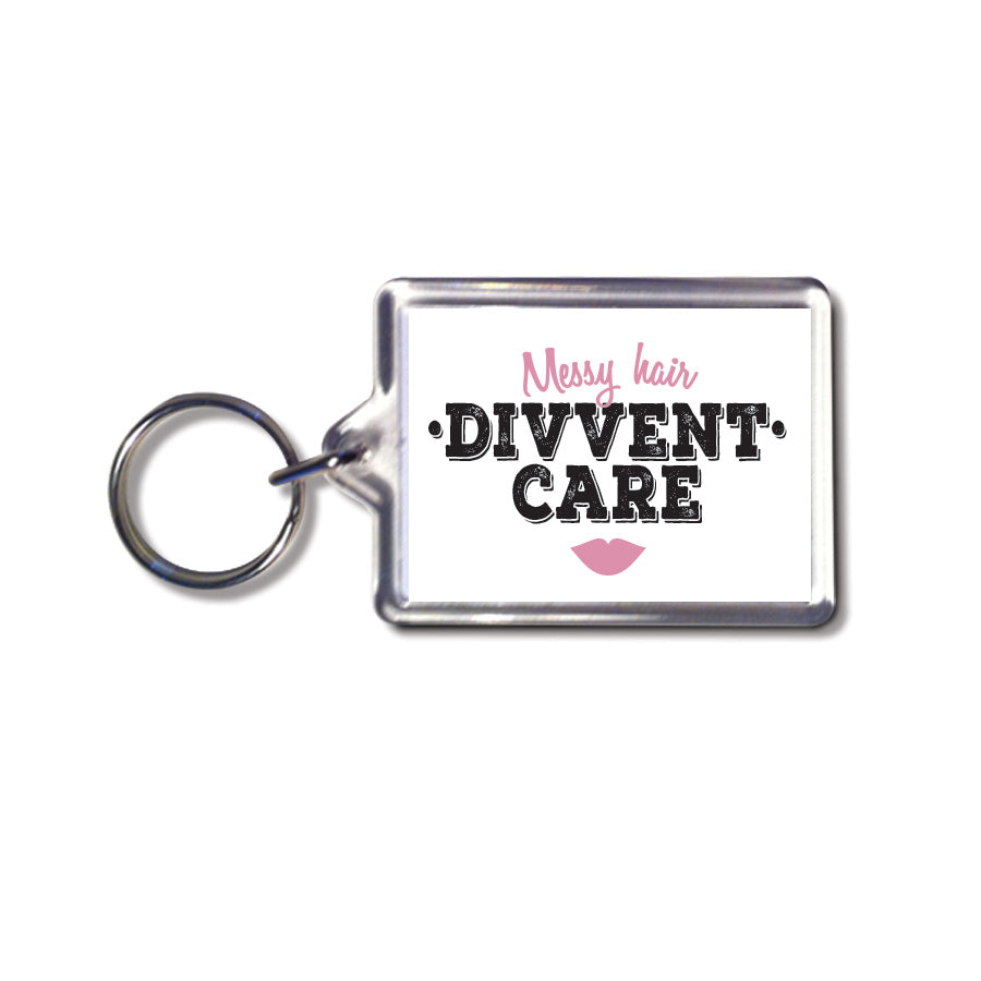 messy hair divvent care geordie gifts keyring newcastle souvenirs and presents shop