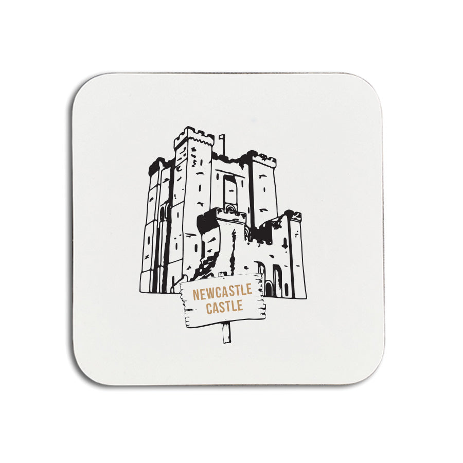newcastle castle keep illustration. Geordie gifts newcastle landmarks presents & souvenirs