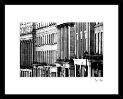 Grey street Newcastle Upon Tyne Georgian architecture photography