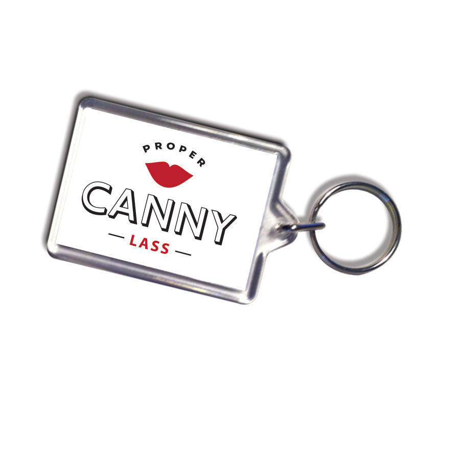 proper canny lass geordie gifts newcastle keyring