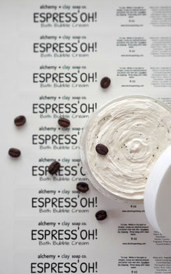 Whipped Soap Espress'OH! Coffee Bath Bubble Cream