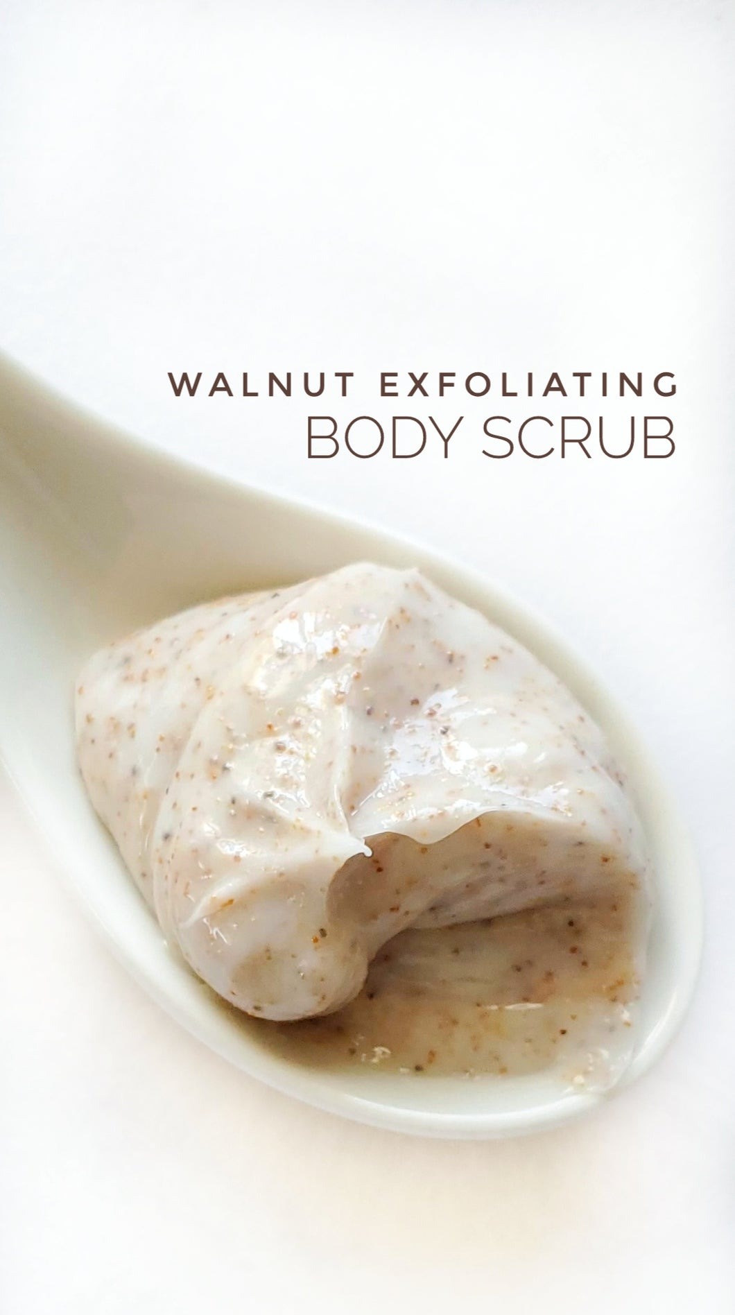 Walnut Exfoliating Body Scrub 8oz