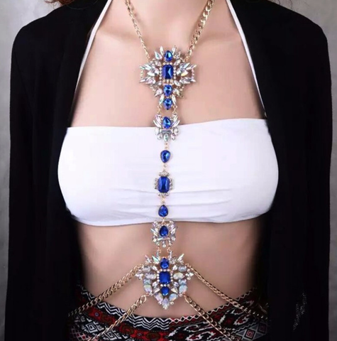 Body Chain - Blue