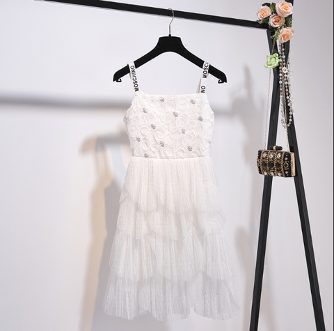Boho Queen White Fairy Dress