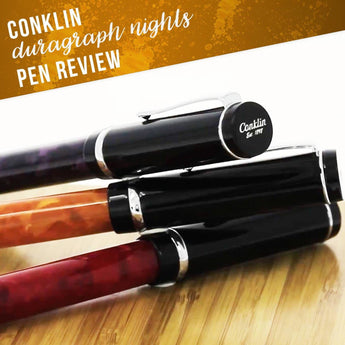 Conklin Duragraph Nights Pen Review