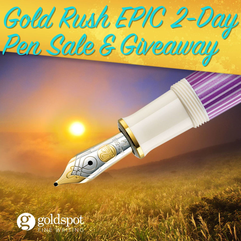 Goldspot Gold Rush 2019 Exclusive 2-Day Epic Pen Sale Event