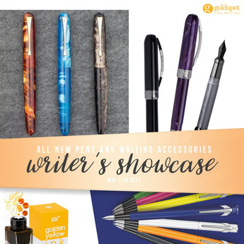 Writer's Showcase of New Pens - May 2017