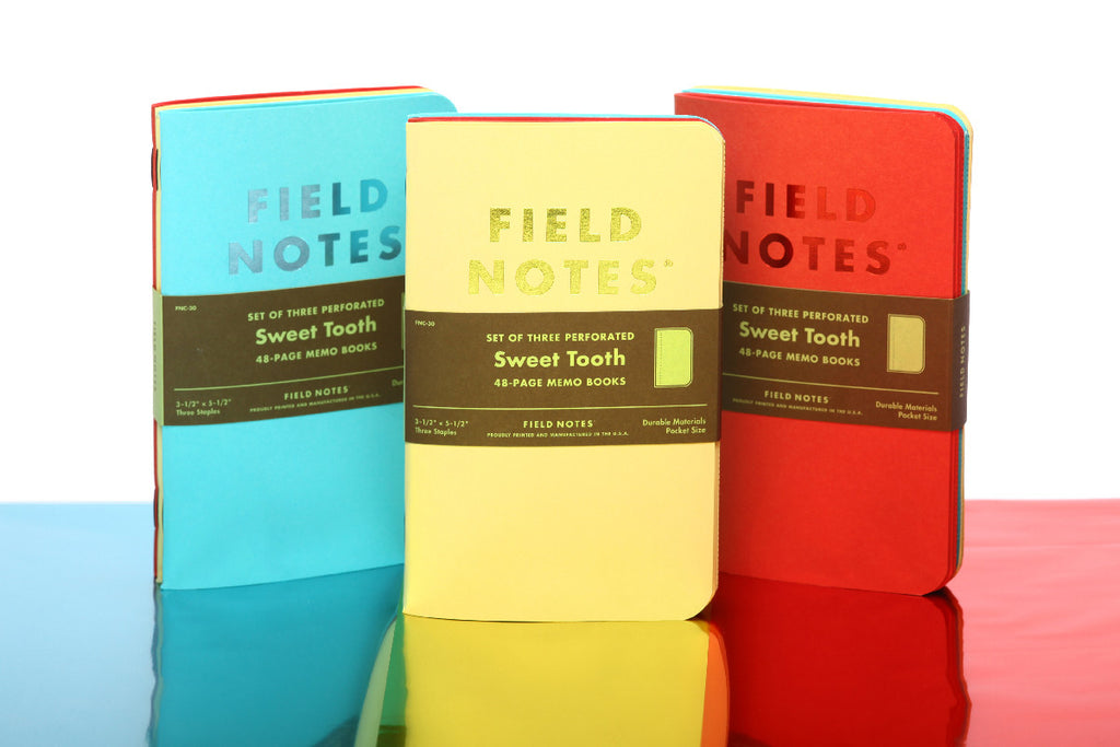 field notes sweet tooth limited edition notebooks