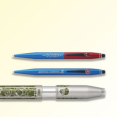 Cross DC Marvel Pens