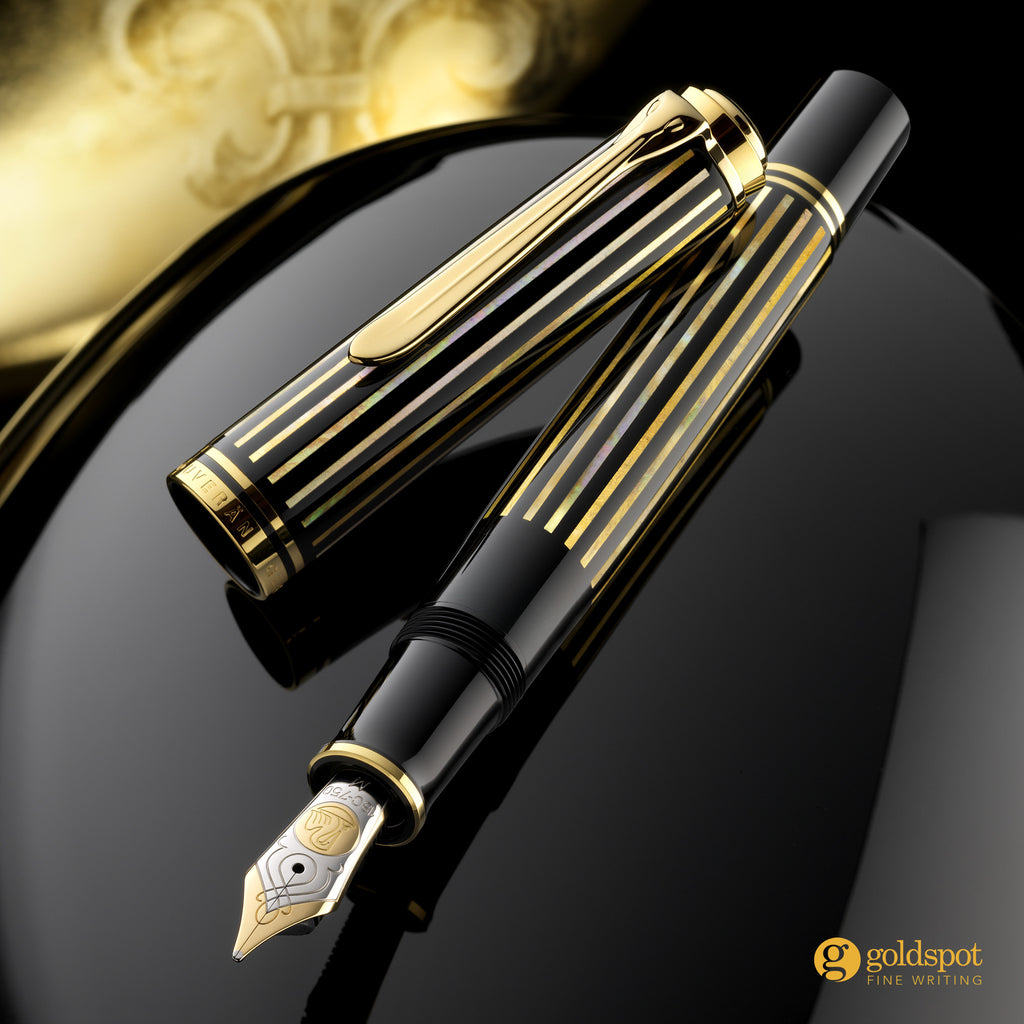 Pelikan M800 Royal Gold Urushi Fountain Pen Beauty