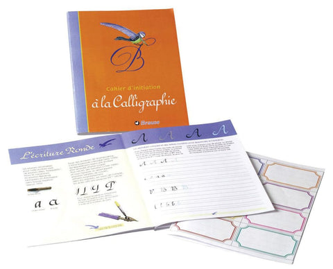 Brause Calligraphy Practice Handwriting Notebook Misc