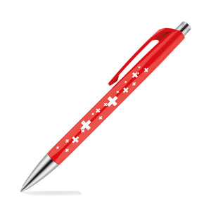 Caran dAche 888 Infinite Ballpoint Pen with Swiss Cross Theme Ballpoint Pen