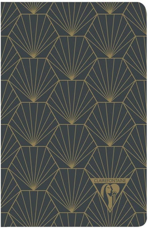 Clairefontaine Neo Deco Notebook in Shell Lined - 5.5 x 8.25 (A5) Notebook