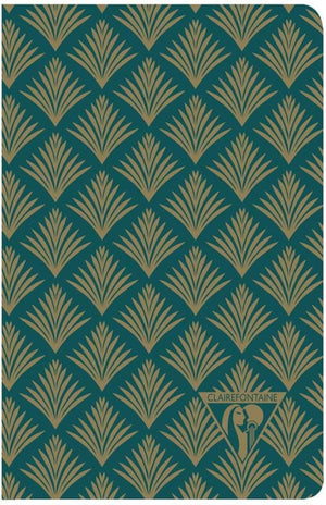Clairefontaine Neo Deco Notebook in Vegetal Lined - 5.5 x 8.25 (A5) Notebook